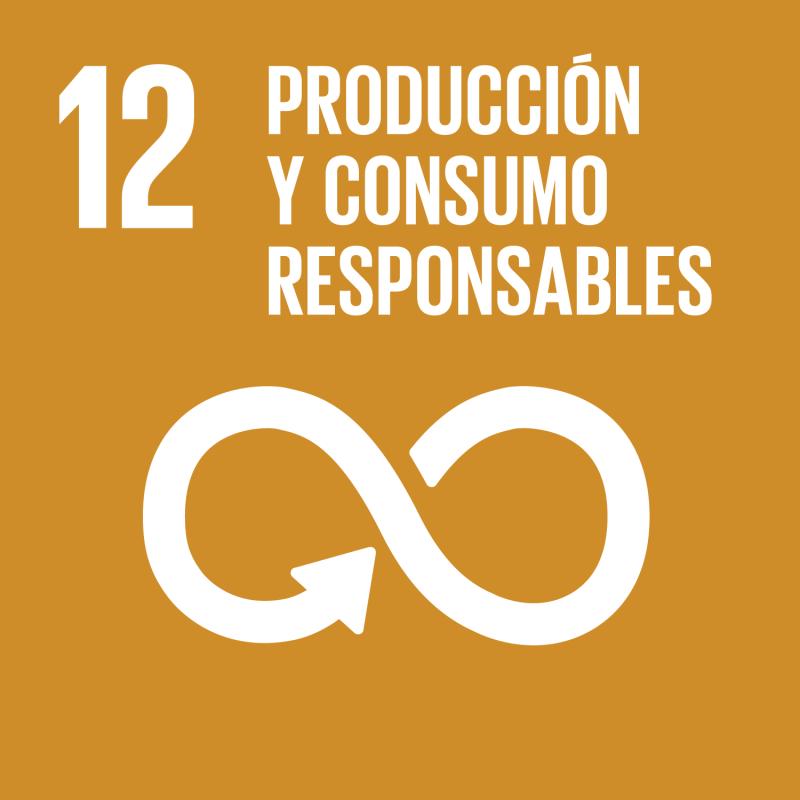 12 Producción y Consumo Responsables.