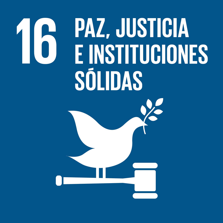 16 Paz, Justicia e Instituciones