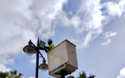 El Ayuntamiento reduce en 72.800 kilovatios hora el consumo en alumbrado público durante el primer cuatrimestre del año