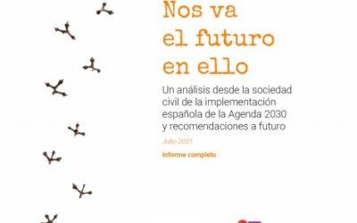 Futuro en Común da cuenta de la visión de la sociedad civil de la implementación española de la Agenda 2030