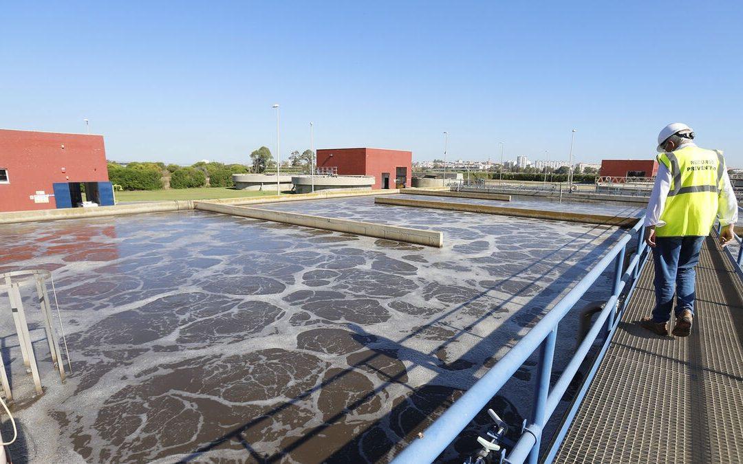 La depuradora de Huelva camina hacia la gestión sostenible total