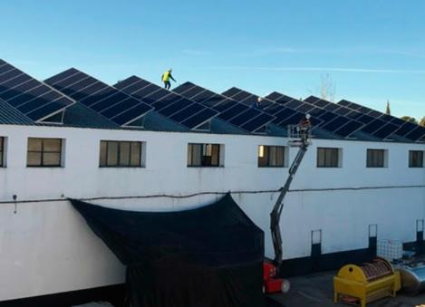 La bodega Robles genera alrededor del 83% de la energía que utiliza a través de una instalación fotovoltaica