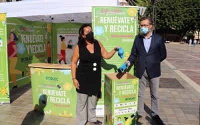 El Ayuntamiento y la Fundación Ecolec impulsan la #GreenWeek para concienciar sobre el reciclaje de aparatos eléctricos y electrónicos