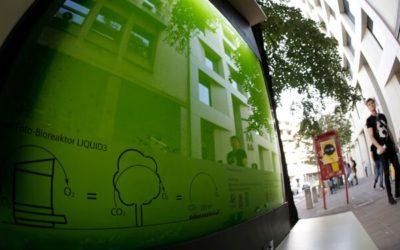 Liquid 3: Un acuario con microalgas para limpiar el aire urbano donde no hay árboles