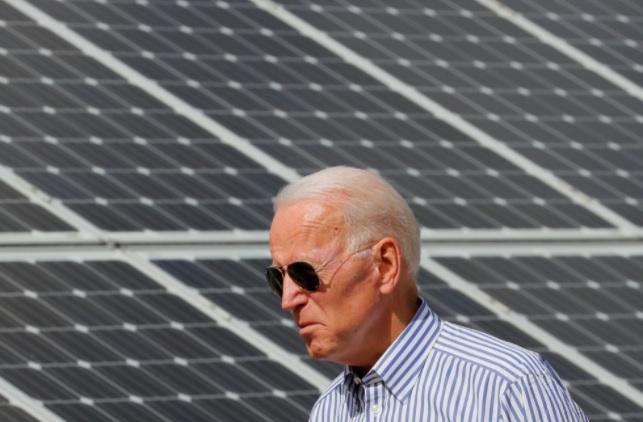 Biden presenta un plan para que el 45% de la electricidad provenga de la energía solar en 2050